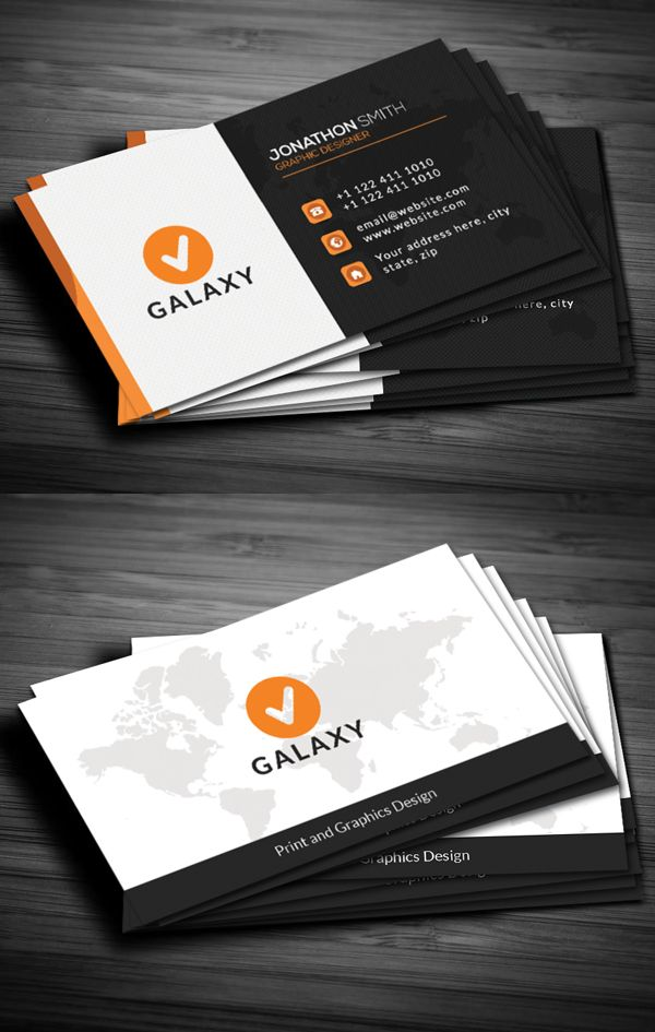 35 Modern Creative Business Cards Design With Images Graphic