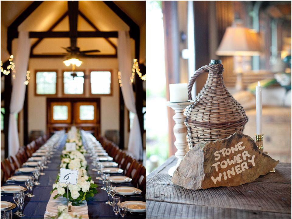 Stone Tower Winery Is A Rustic Wedding Venue Outside Leesburg Virginia In Loudon County