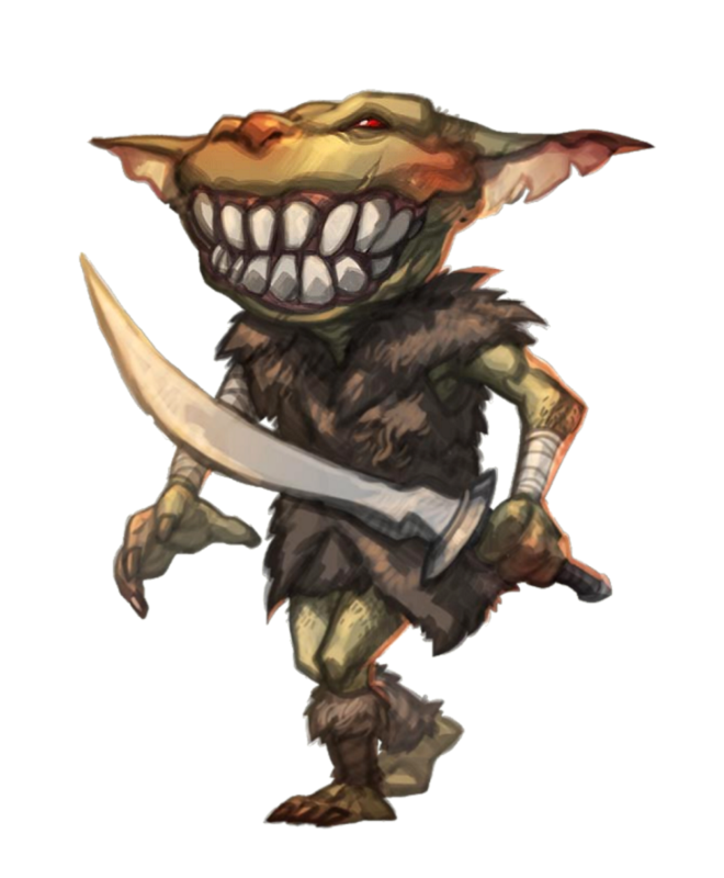 male goblin fighter or rogue pathfinder pfrpg dnd d d 3 5 5th ed