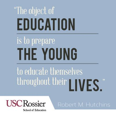 Teaching Blog | USC Rossier Online - Part 9 | Educational Quotes ...