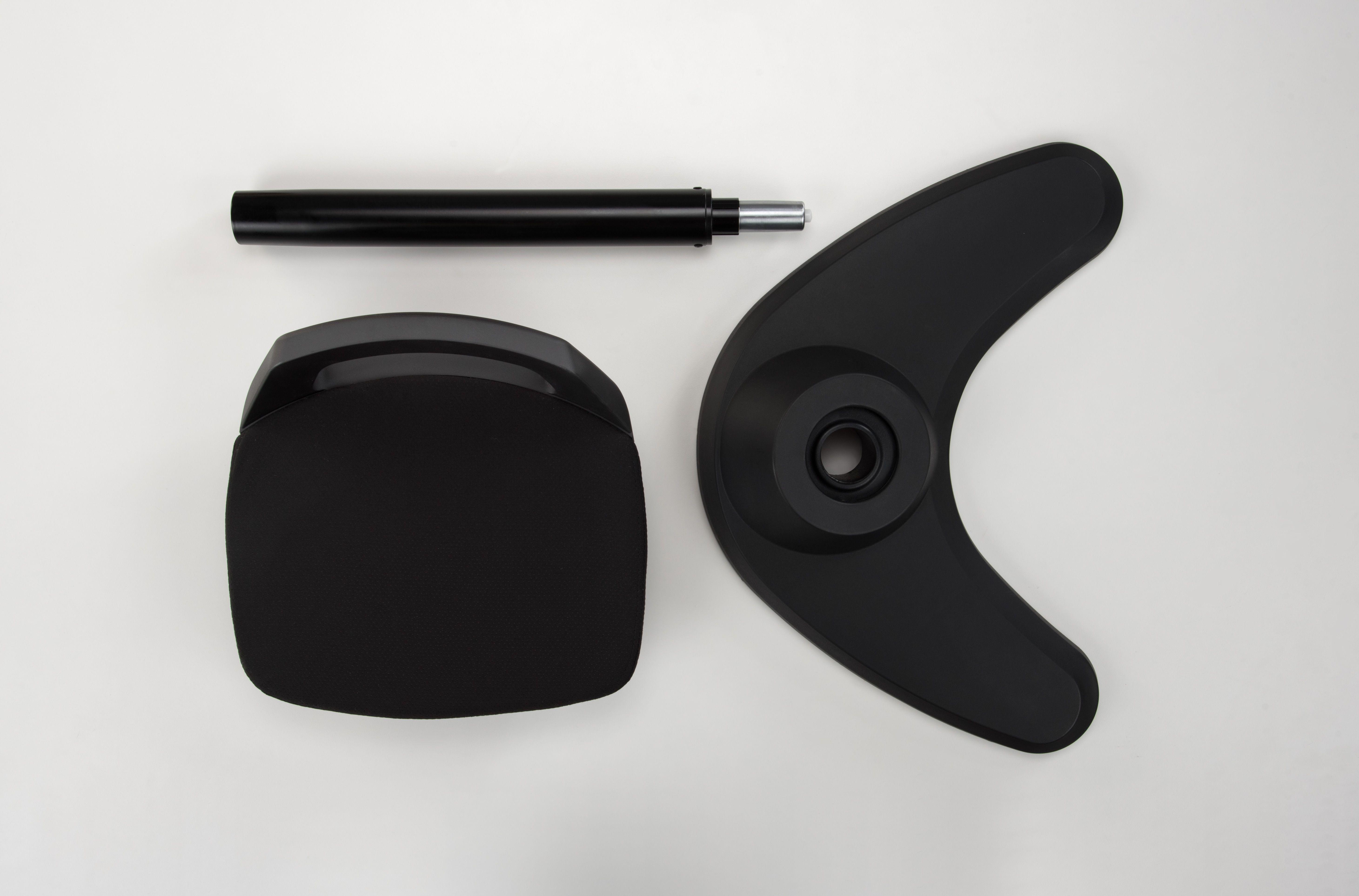 Motion Stool by UPLIFT Desk Black