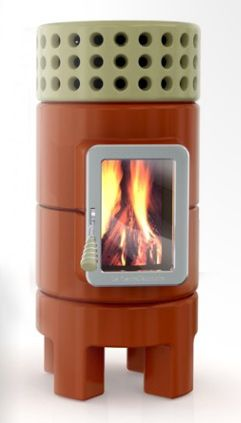 stack stoves a ceramic line with wood burning and pellet burning fireplaces wall of. Black Bedroom Furniture Sets. Home Design Ideas