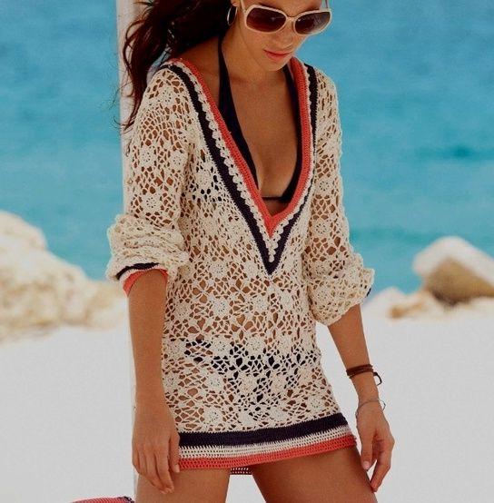 Crochet Bathing Suit Cover Up Pattern Crochet Knitting Design