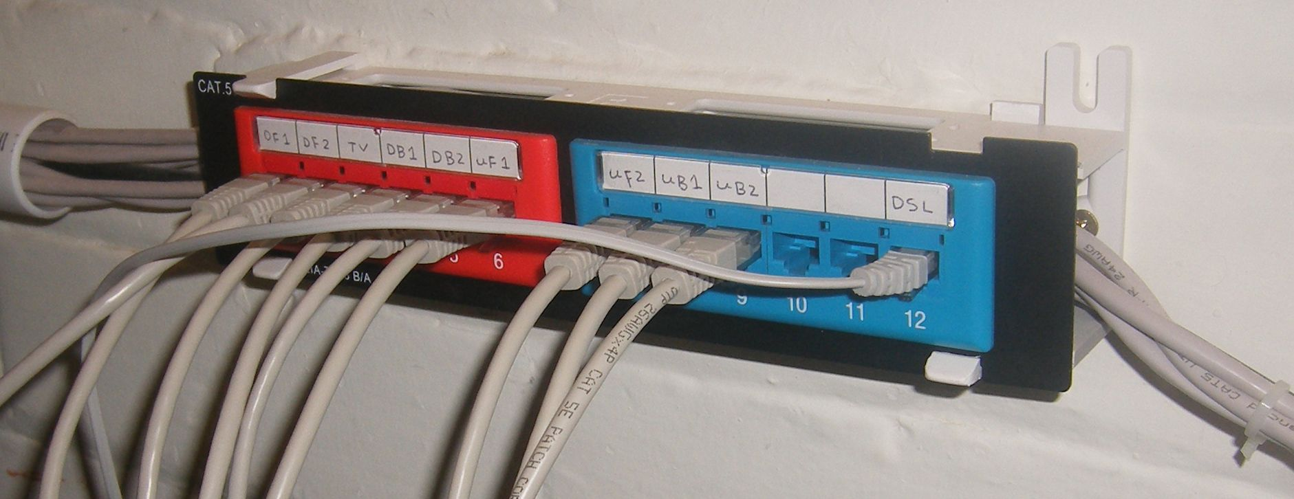 medium resolution of cat 6a patch panel wiring diagrams