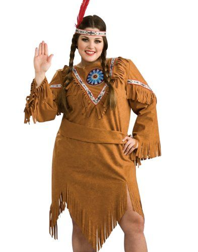 fashion bug plus size costumes: rubies native american indian