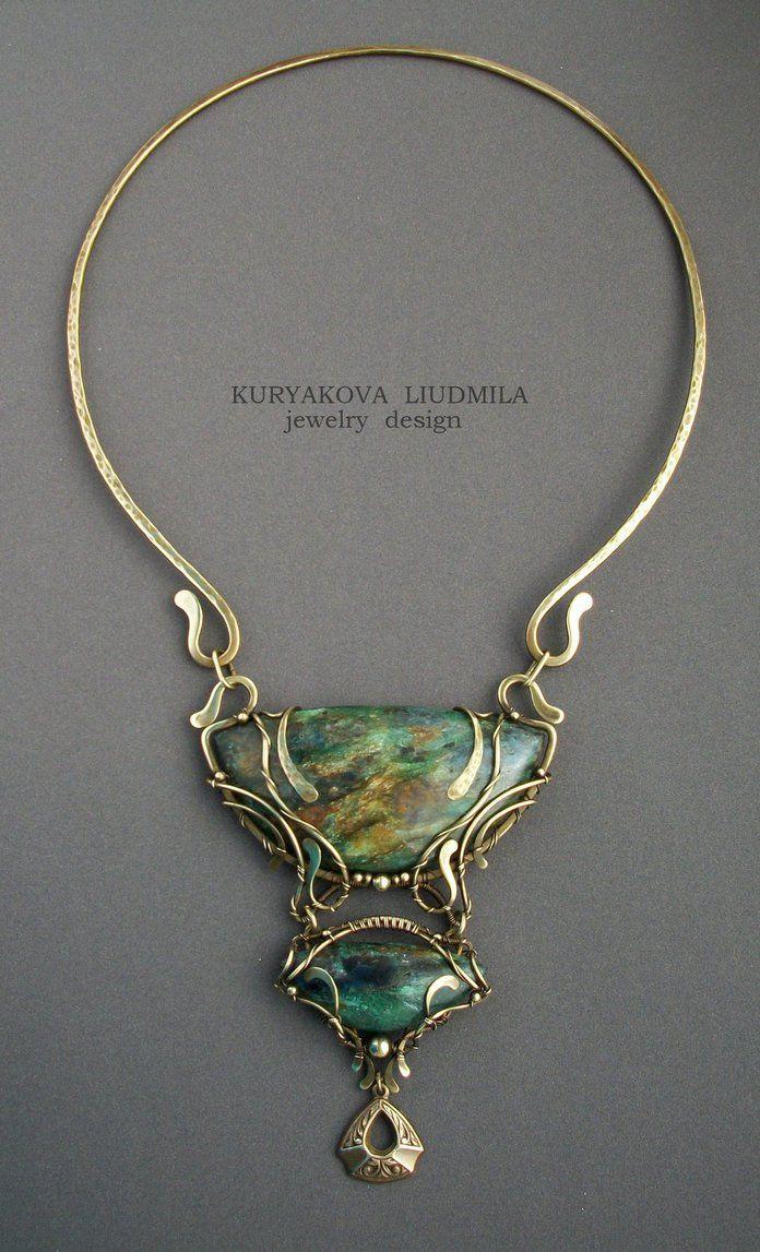 Necklace | Kuryakova Liudmila. \