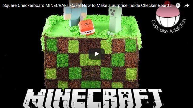 Tipps und ideen f r eine kindergeburtstag minecraft - Minecraft dekoration ...