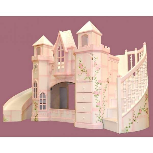 Castle Bunk Bed With Slide Furniture Reference Pictures