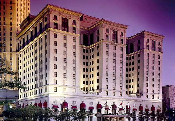 Renaissance Cleveland Hotel Walking Distance To R Hof Progressive Field