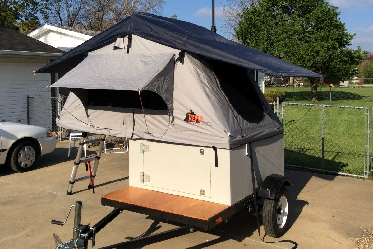 Compact Camping Concepts Diy roof top tent, Roof top