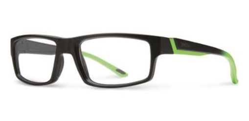 774d1e642fc0 eBay  Sponsored Eyeglasses Smith Vagabond 0MVD Black React Green ...