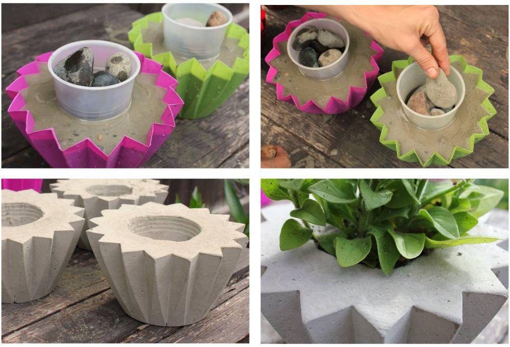 Идеи вазонов своими руками фото