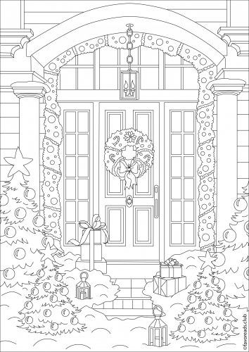 The Best Free Adult Coloring Book Pages | Paisajes | Pinterest