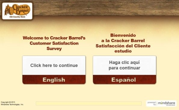 Cracker Barrel Customer Satisfaction Survey WwwCrackerbarrel