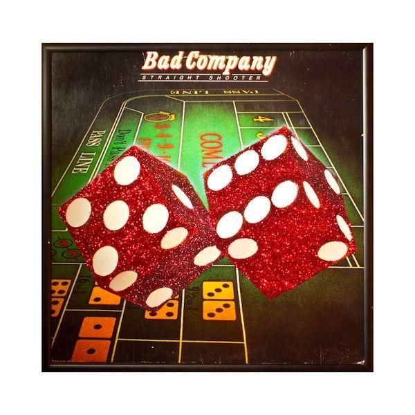 Glittery Album Art Bad Company Album Album Covers Art