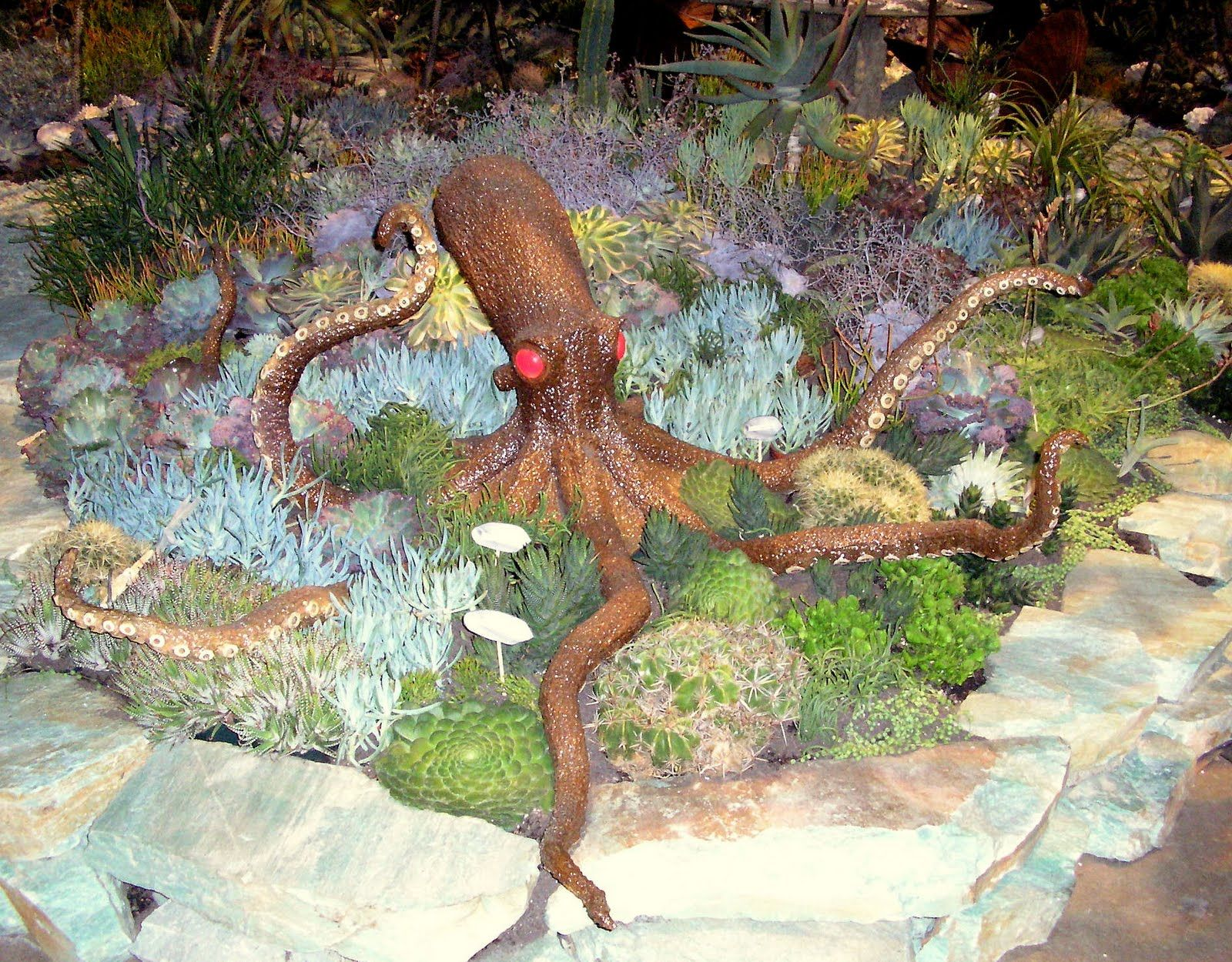 Succulent Garden Under The Sea Designed By Organic Mechanics