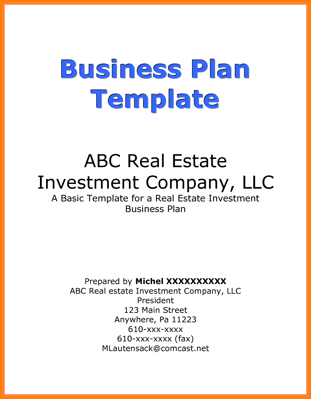 5 pictures of business plan cover page address exle news to go 2 5 pictures of business plan cover page address exle fbccfo Images