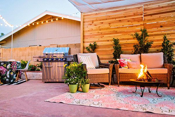 Before And After Covered Backyard Patio Design Backyard Makeover Backyard Patio Design