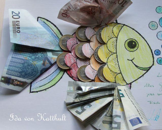 Idas Bloghaus Diy Geldgeschenk Fur Einen Angler Darky Money