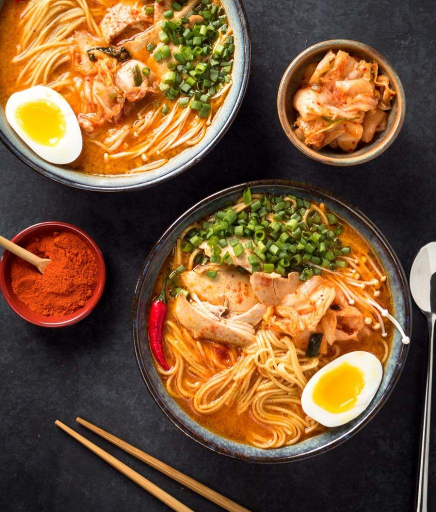 Korean Ramen This Is Not Instant Noodles Recipe Chicken Ramen Recipe Spicy Ramen Ramen Recipes