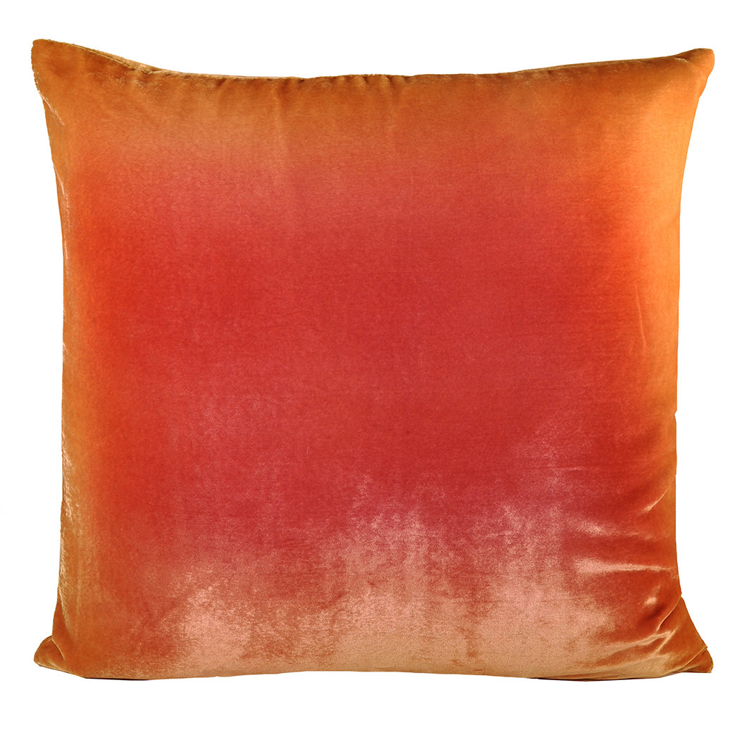 Ombre Velvet Pillow By Kevin O Brien Silk Velvet Pillow Velvet Pillows Pillows Throw Pillows