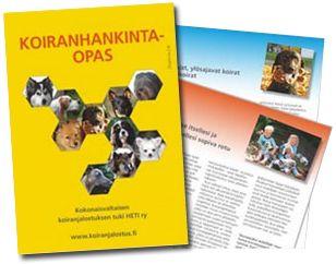 Koiranhankintaopas   Kokonaisvaltaisen koiranjalostuksen tuki ry - HETI