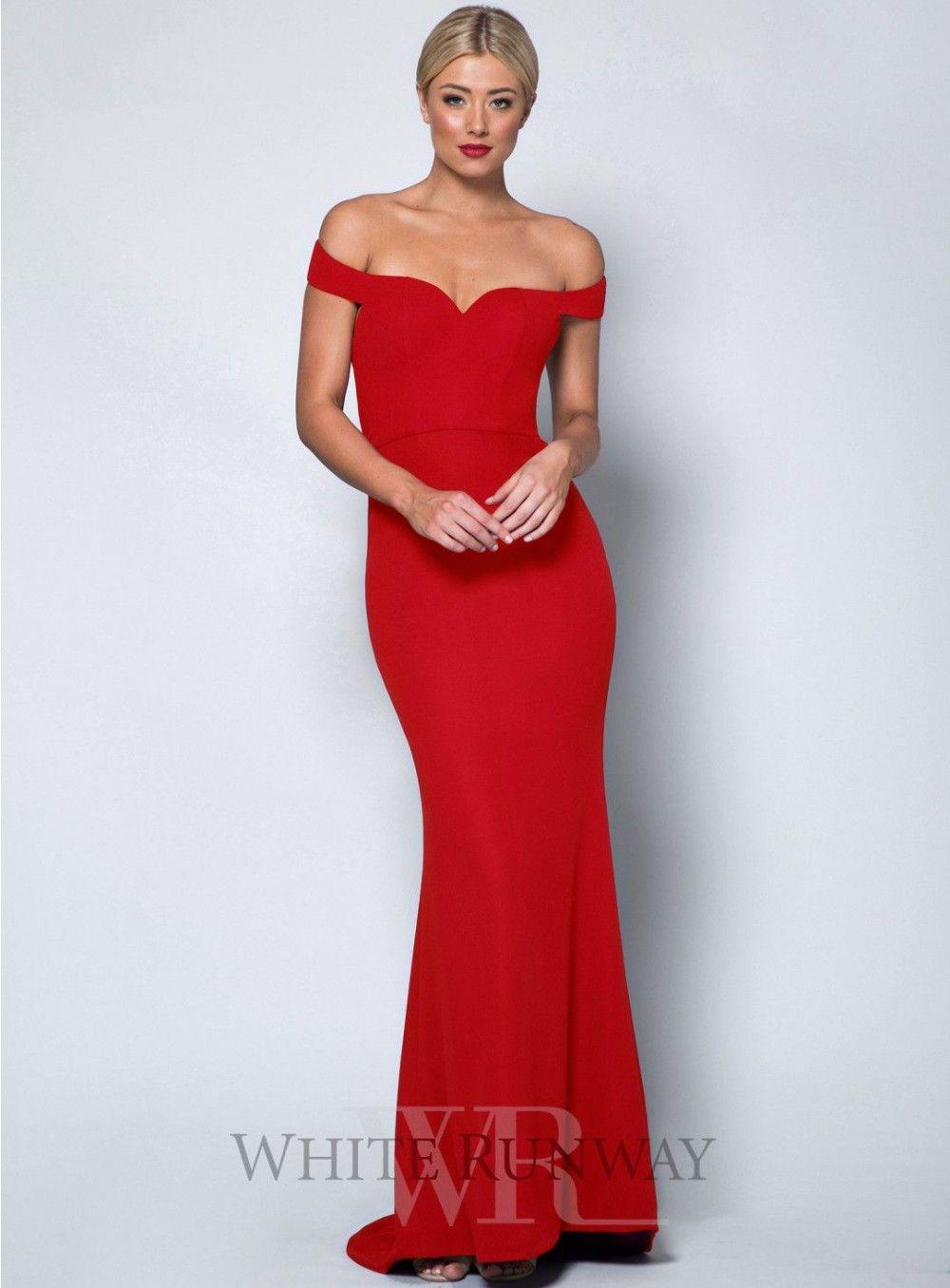 Bella Schulterfreies Kleid