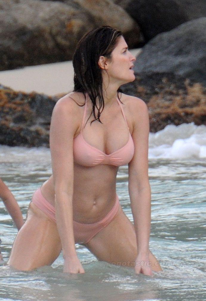 and Stephanie son bikini seymour