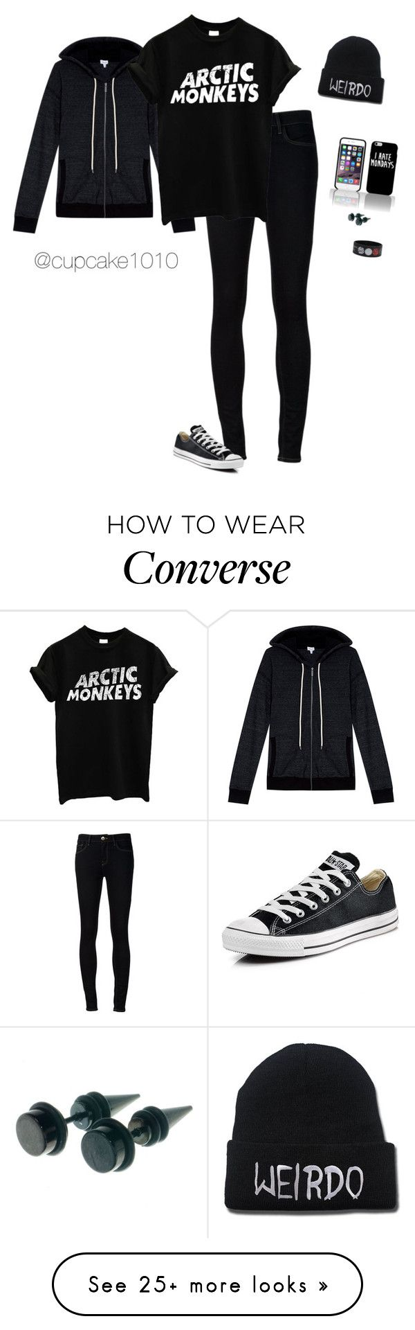 """Please Read Description =)"" by hanakdudley on Polyvore featuring Splendid, Ström, Converse, women's clothing, women's fashion, women, female, woman, misses and juniors"