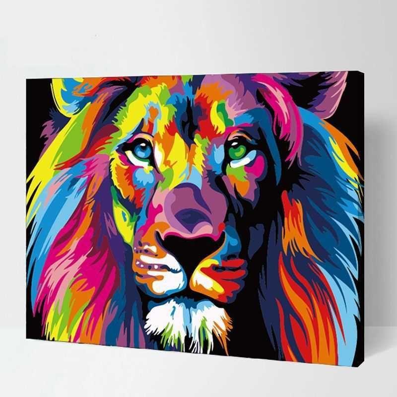 Pin Auf Tiere In Regenbogenfarben