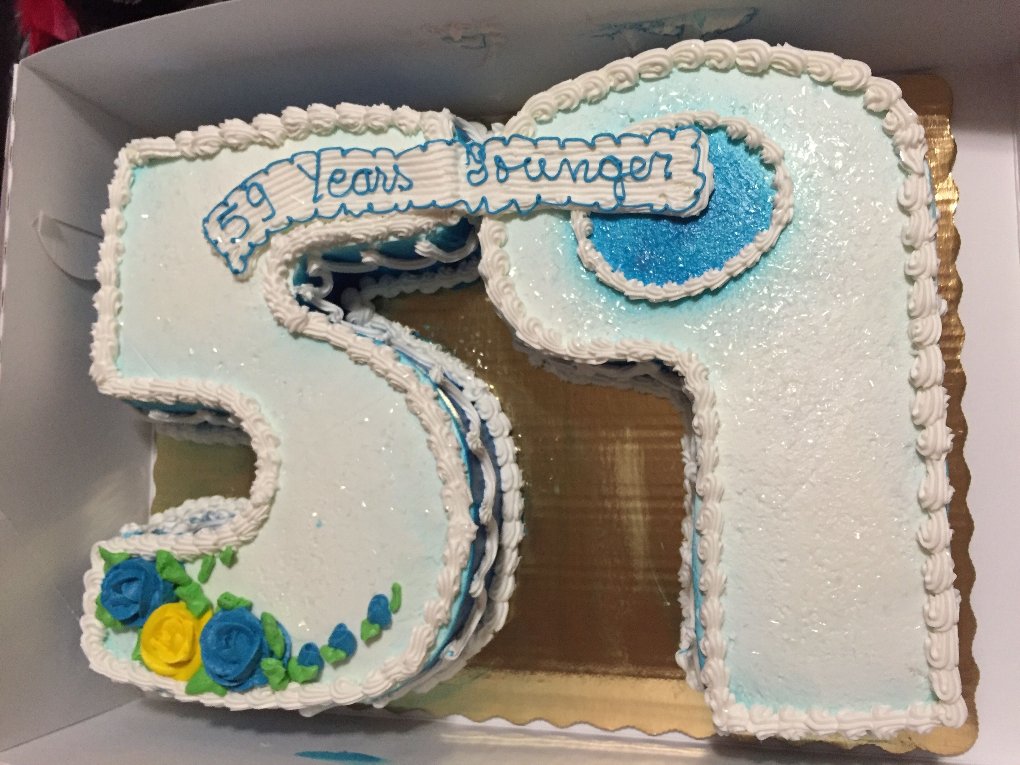 59th Birthday Cake With Images 59 Birthday 59th Birthday Gift