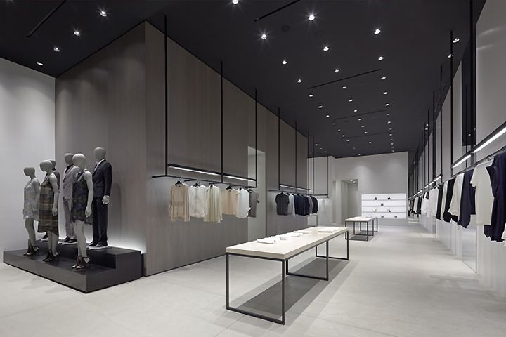 Retail Design Shop Design Fashion Store Interior Fashion Shops Theory Shop By Nendo Los