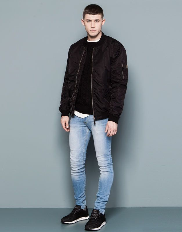 Jeans Hombre Pull Bear Colombia Super Skinny Jeans Jeans Fit Skinny Fit