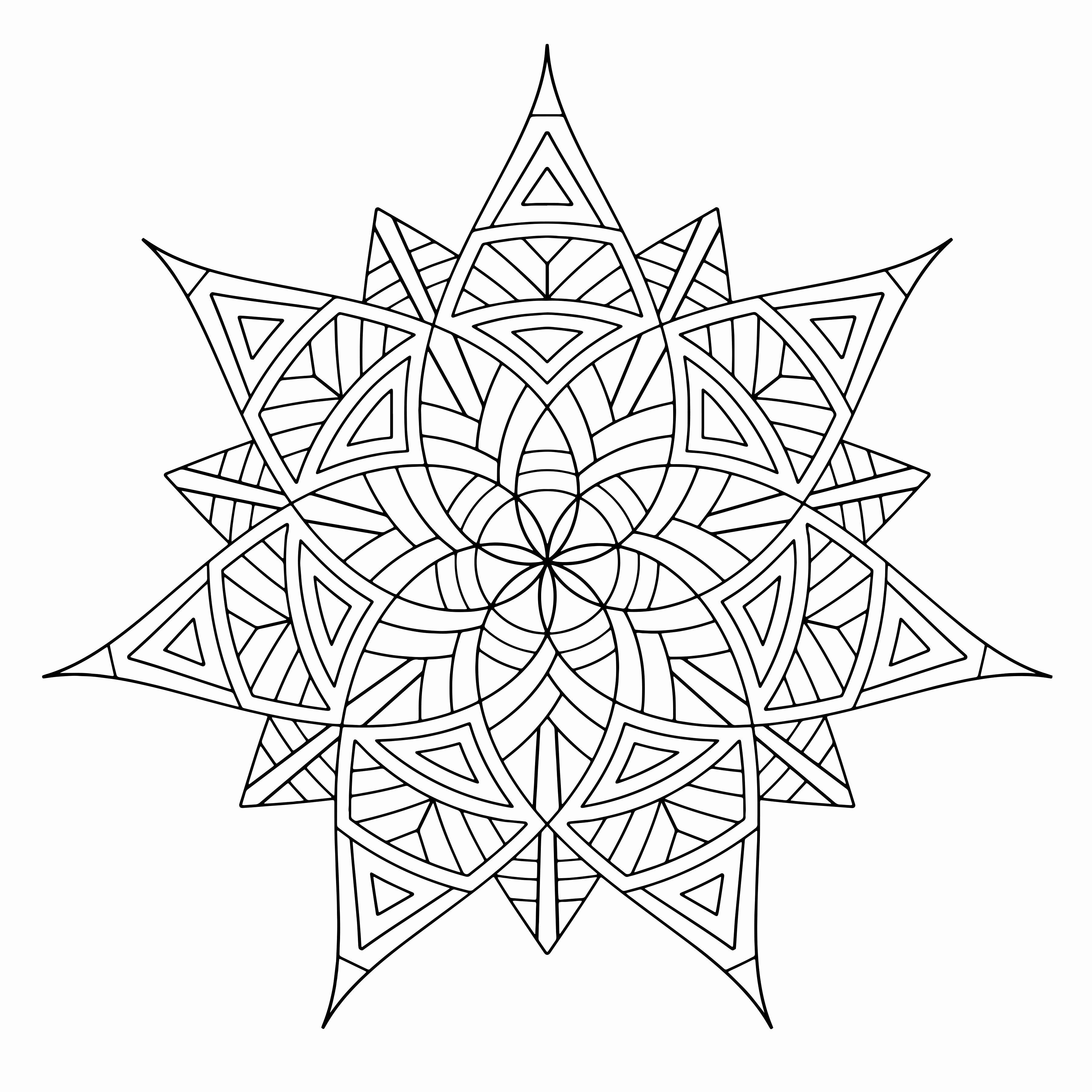 Coloring Pages For Teenagers Printable Elegant Free Printable Geometric Coloring Pages F Geometric Coloring Pages Pattern Coloring Pages Mandala Coloring Pages