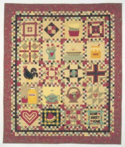 Country Cupboard Quilt Design | Quilt design, Free pattern and ... : country quilts patterns - Adamdwight.com