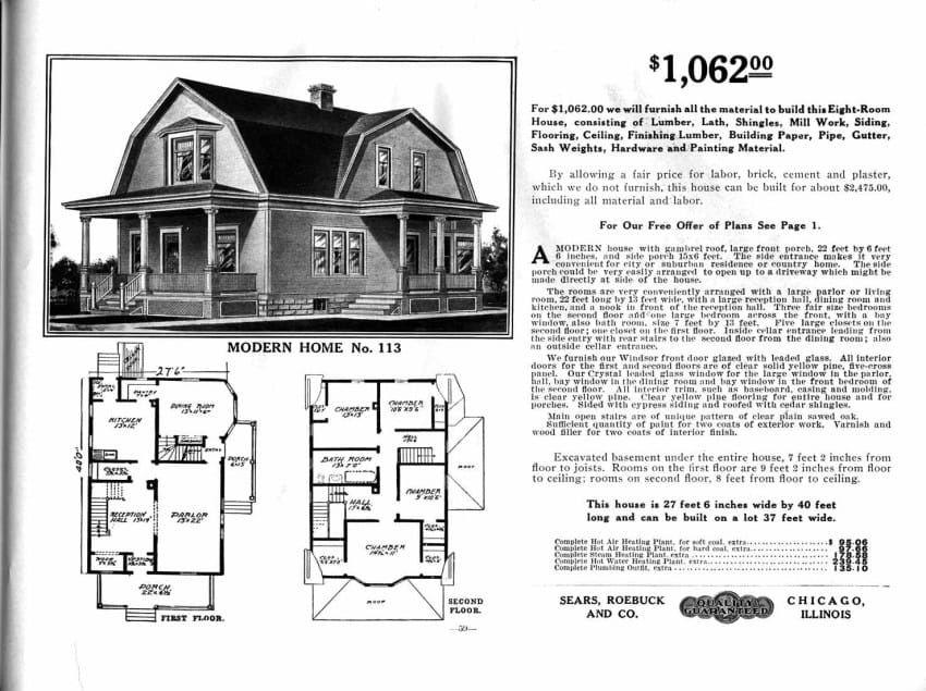 Sears Catalog Homes Craftsman House