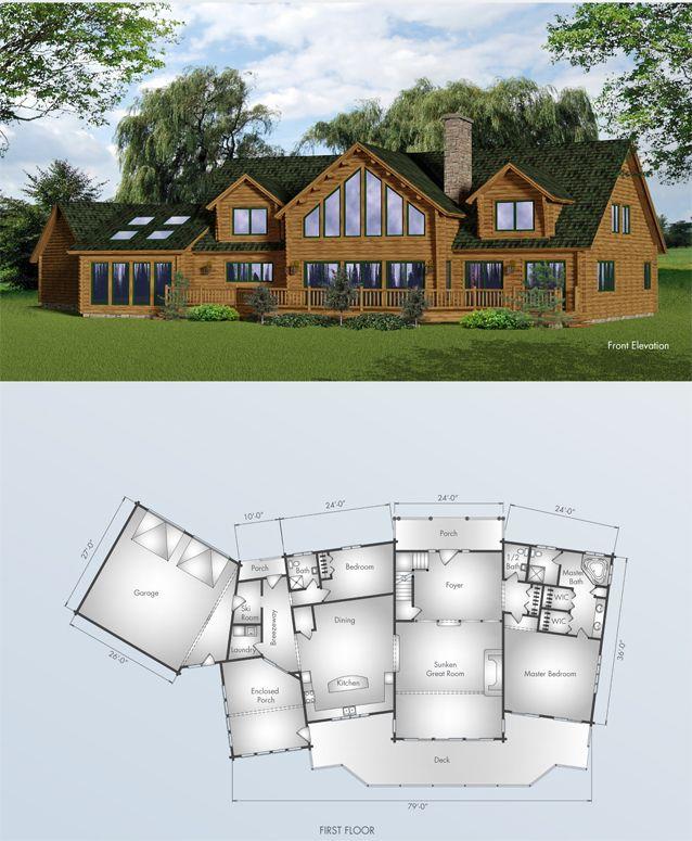 Moose Lodge Big Twig Homes Log Home Builders Moose Lodge Dream House Plans