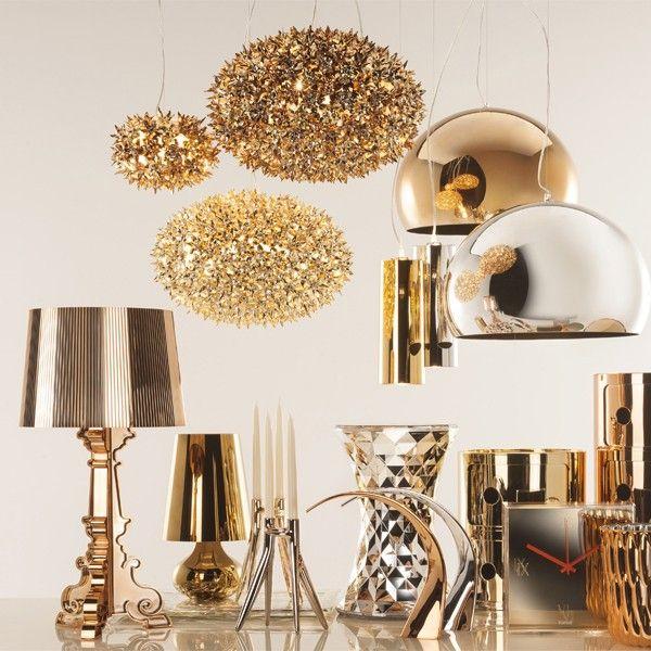 FLY hanglamp LED metallic | Kartell | Hanglamp, Decoraties