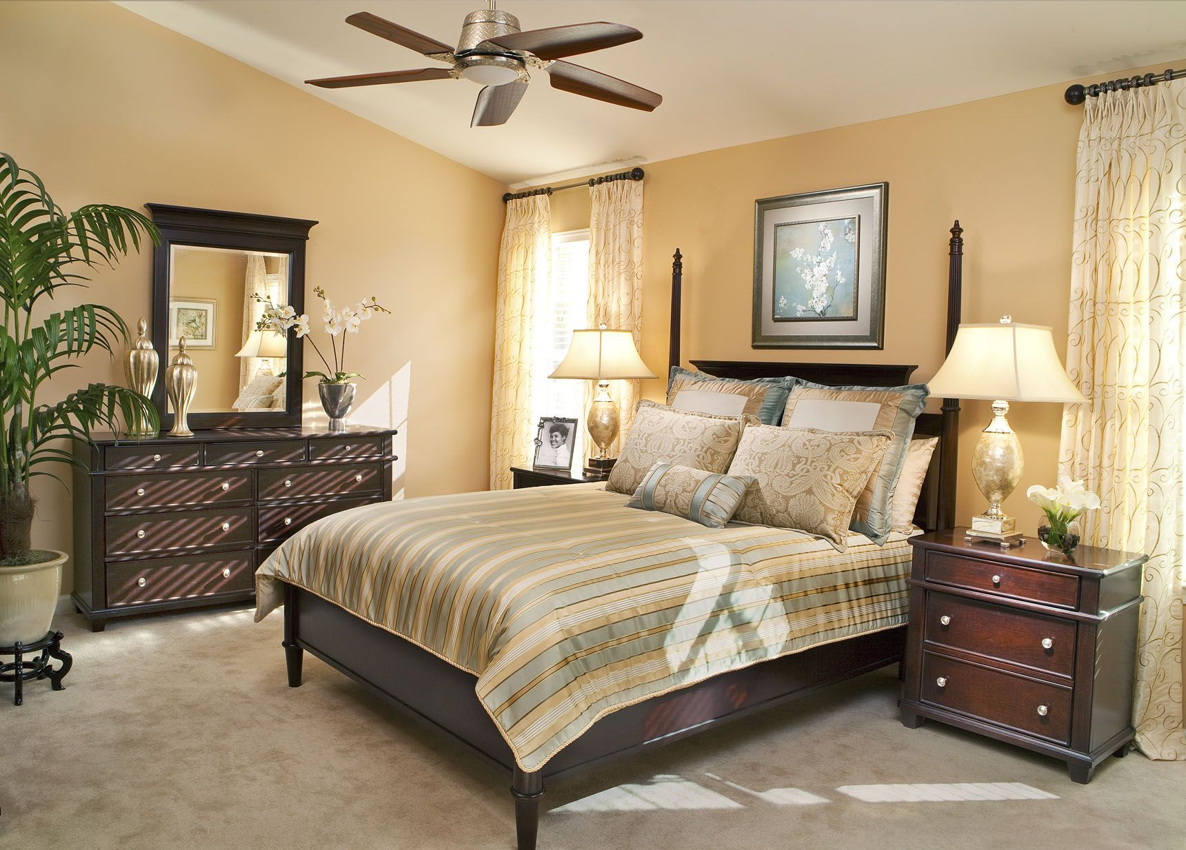 Beautiful Bedroom designs by Decorating Den Interiors. Want this ...