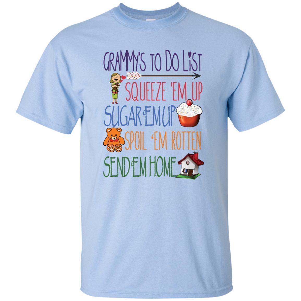 Grammy's ToDo List T-Shirts