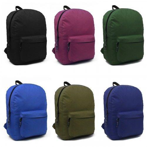 Cheap Wholesale Back To School Backpacks For Boys Girls In Bulk
