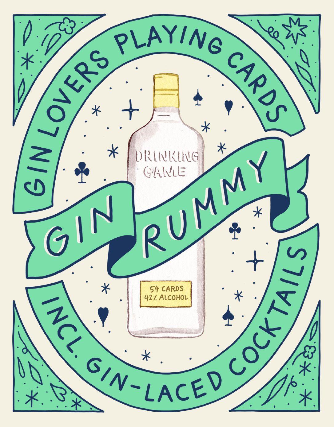 Gin Rummy Gin rummy, Gin gifts, Gin