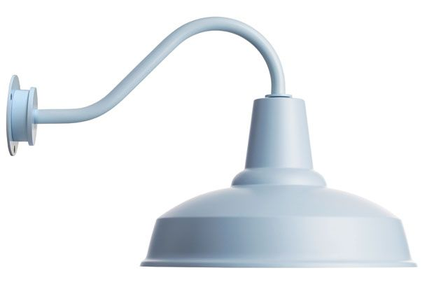 BARN LAMP, light blue | Eleanor HomeEleanor Home
