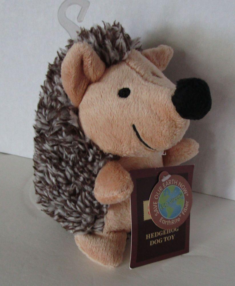New Dog Toy Squeaky Baby Hedgehog Plush Stuffed Squeak 6 Dan Dee