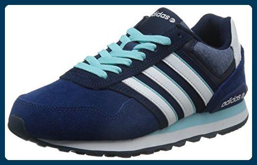 adidas NEO 10K, Damen Sneakers, Blau (Royal BlueWhiteBlack
