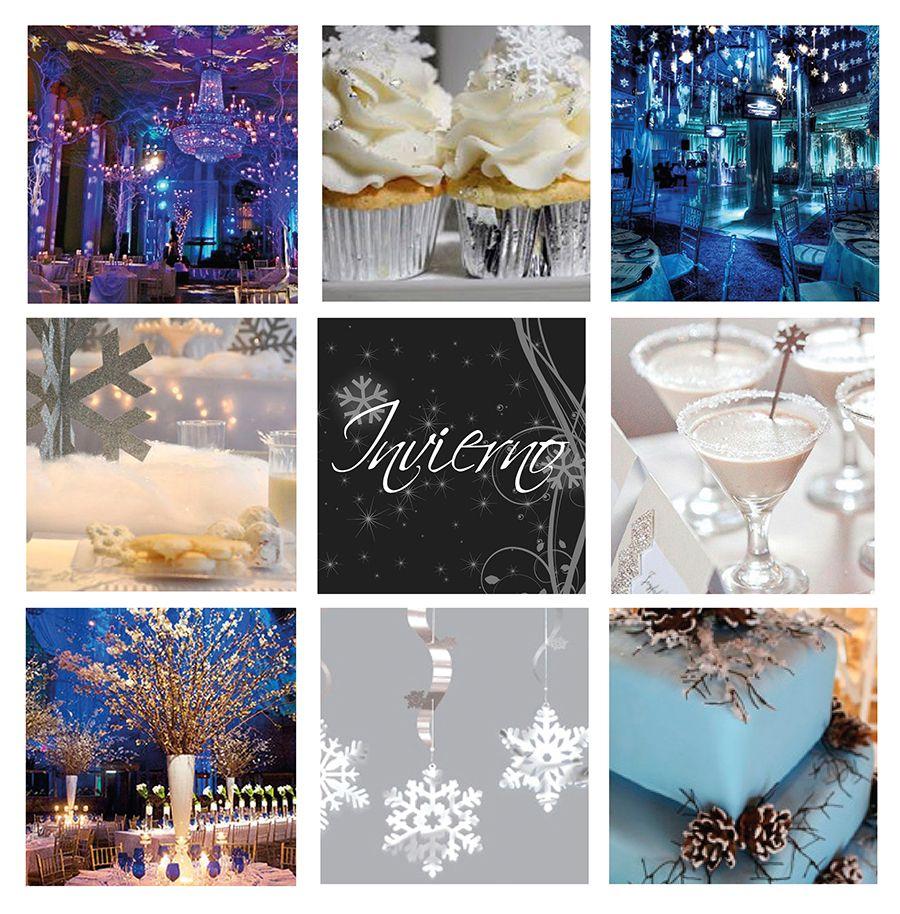 Matrimonio Tema Invernal : Decoraciones para años con tema invernal buscar