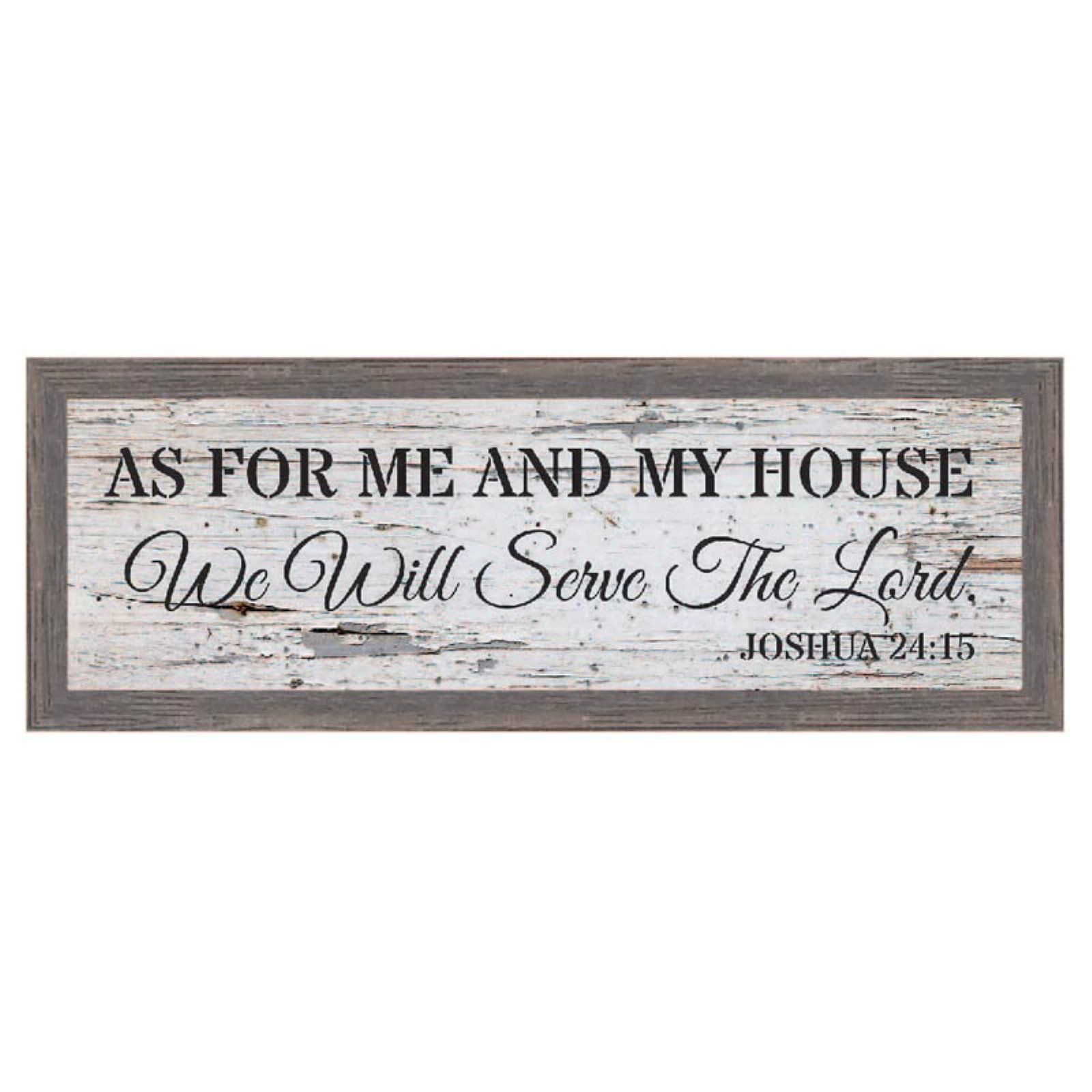 Kay Berry As For Me And My House Framed Wall Art In 2020 Wall Phrases Framed Wall Art Home Decor Wall Art
