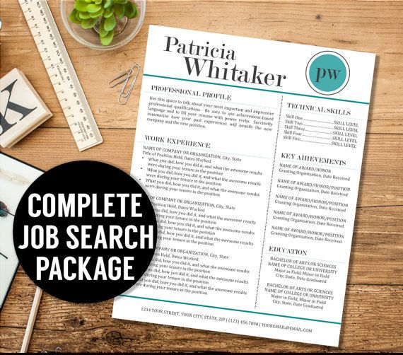resume cover letter thank you letter by theresumestudio on etsy
