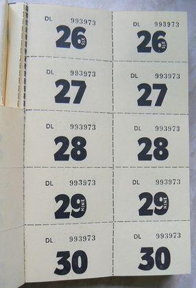 Cómo imprimir boletos numerados Boleto, Eventos especiales y En - como hacer boletos para un evento