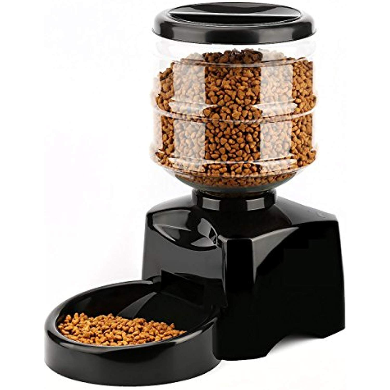 Pyrus Automatic Feeder Electric Pet Dry Food Container With Lcd